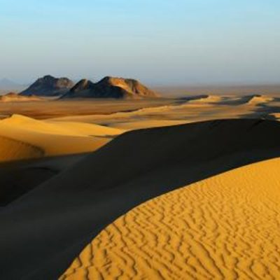 The Nubian Desert