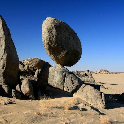 Die Bayuda-Wüste